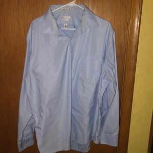 Men's light blue dress shirt Van Heiden